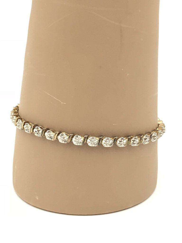 Ross Simons Gold Plated Sterling Silver 925 Heart Bracelet