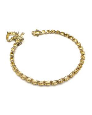 Ross Simons Gold Plated Sterling Silver 925 Heart Bracelet 7″
