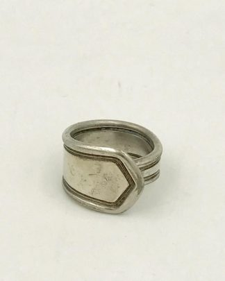 Stainless Steel Spoon Ring Size 3