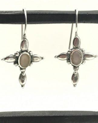 Premier Design Sterling Silver Cross Earrings