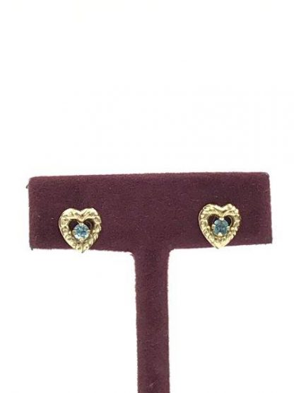 yellow gold earrings for sale