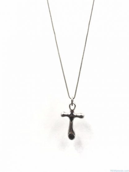 Robert Lee Morris Vintage Sterling Silver Large Religious Cross Pendant