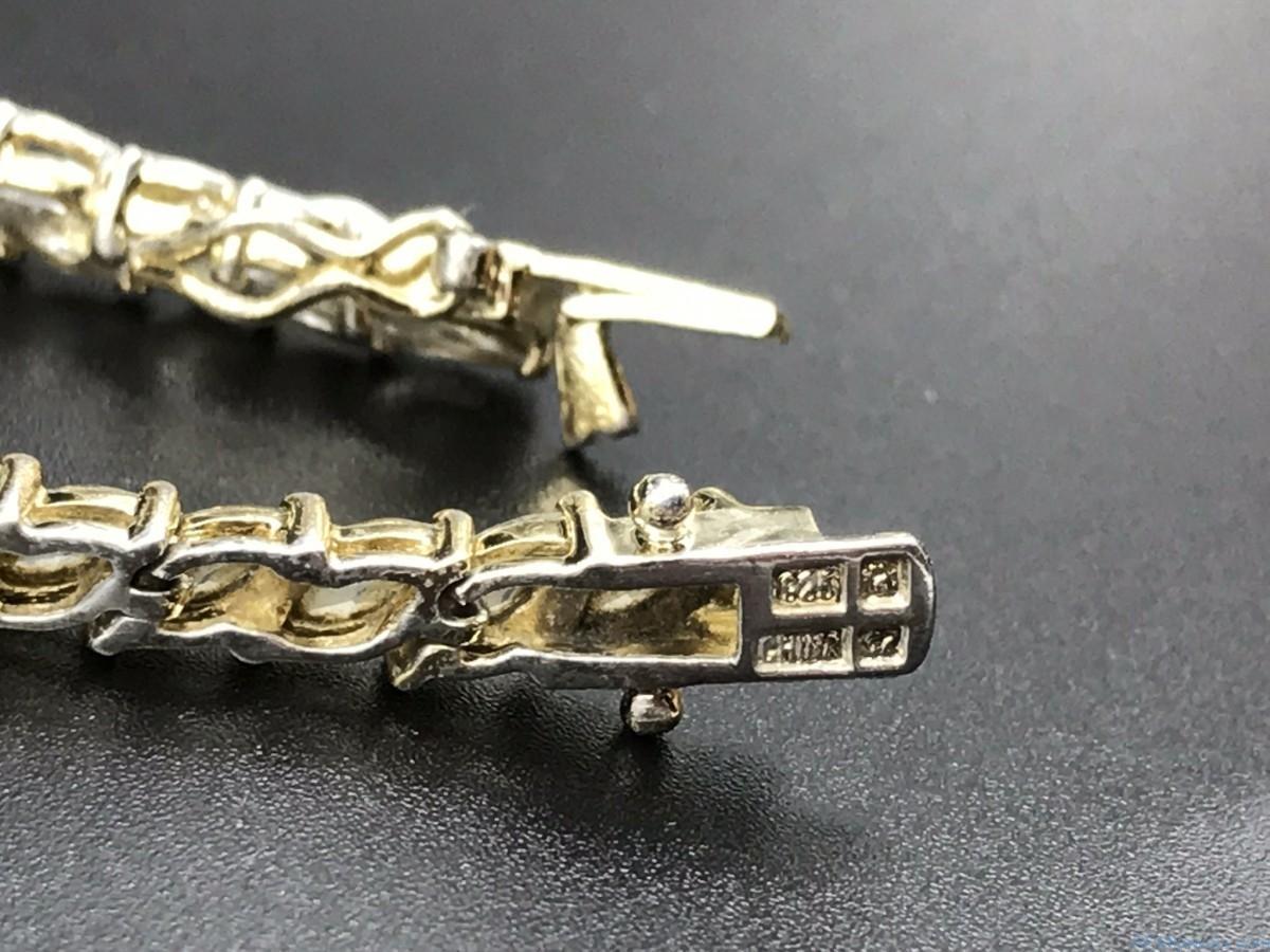 Sterling Silver Tennis Bracelet Remijewels Vintage Jewelry