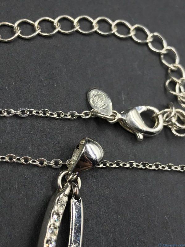 Premier Design Day Night Pendant Infinity Fish Symbol Necklace