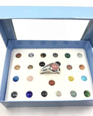 Trésor De La Mer Multi-Color Stone Ring 24 Options Size 10
