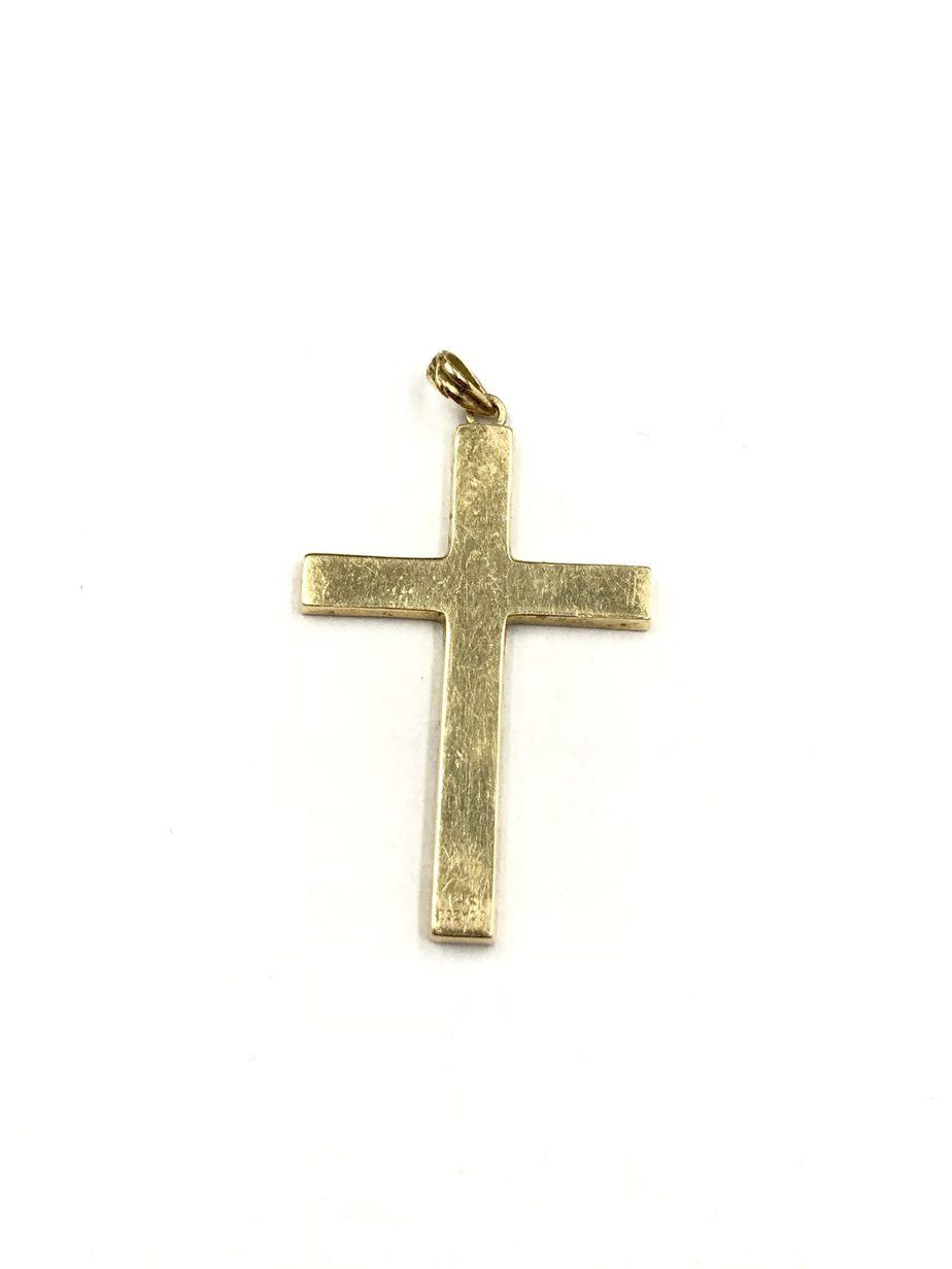 Vintage 14k Cross Pendant Remijewels Estate Vintage Jewelry