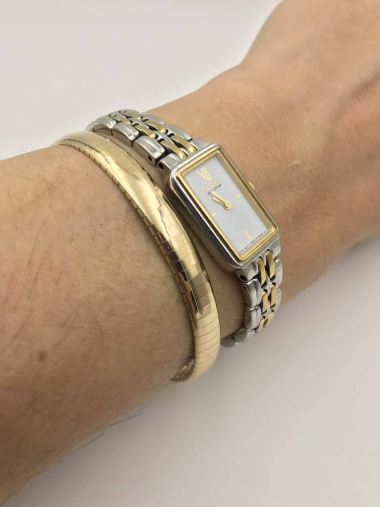 14k Aurafin Bangle Bracelet Remijewels Vintage Jewelry