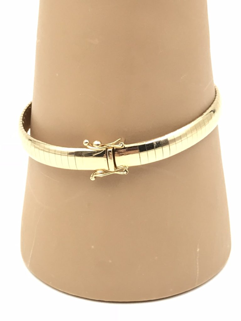 14k Aurafin Bangle Bracelet Remijewels Vintage Jewelry