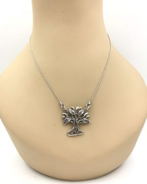 Didae Israel 925 Sterling Silver Necklace Tree Of Life Love Hope Peace Pendant Shabloo