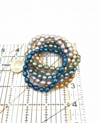 Honora Collection Fresh Pearl Stretchy Bracelets