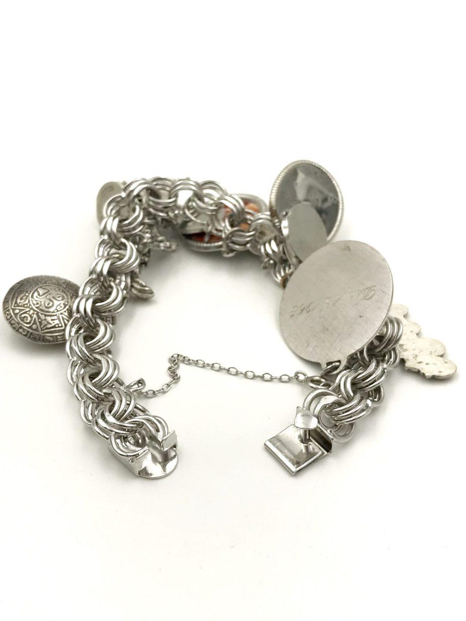 Vintage Elco Silver Bracelet Charm Sterling Silver