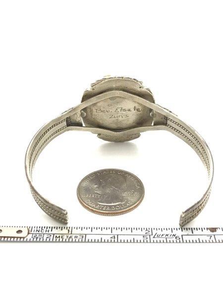 Bev Etsate Zuni Bracelet Sterling Cuff Remijewels Vintage