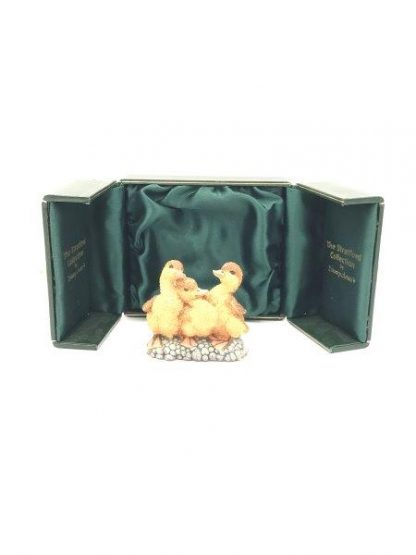 Stratford Collection Country Artists Baby Duck Rare Figurine 00596