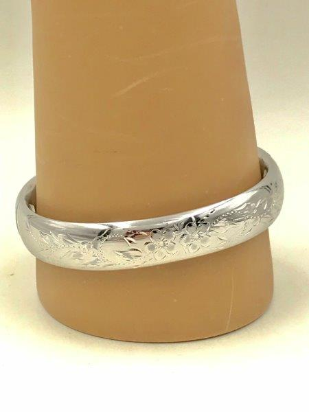 Vintage Sterling Slide Hinge Bracelet Bangle Remijewels