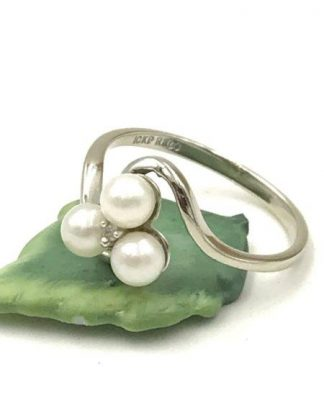 10k pearl ring for sale