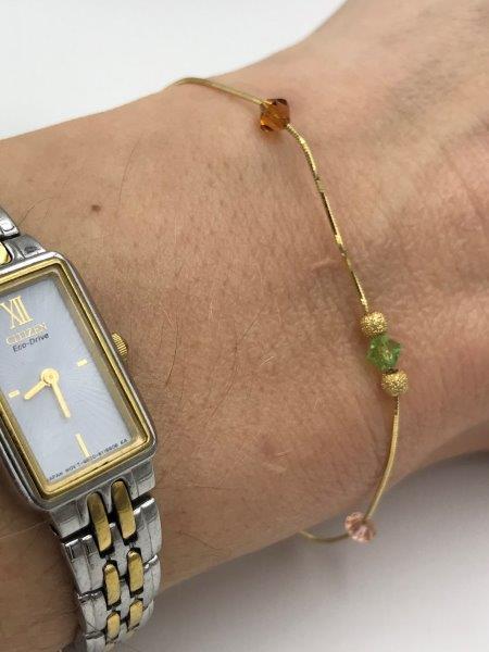 14k Yellow gold Bracelet for sale