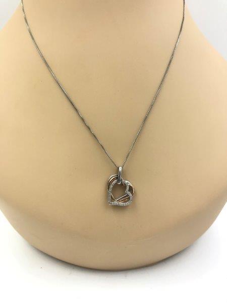Seymour Diamond Heart Necklace Remijewels Vintage Jewelry