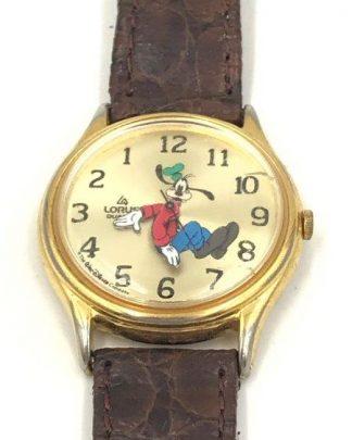 Vintage Lorus Disney Goofy Watch for sale
