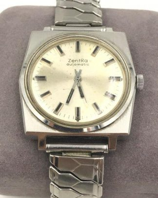 Vintage ZentRa Automatic Men's Wrist Watch for sale