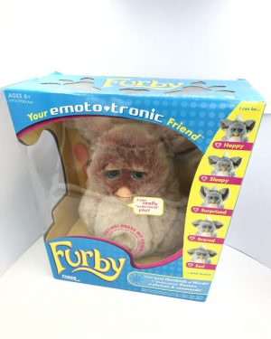 Original FURBY 2005 EMOTO TRONIC Red Velvet Model 59294 HASBRO