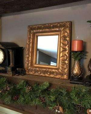 La Barge Mirror Vintage Wood Wall Mirror Holland Michigan