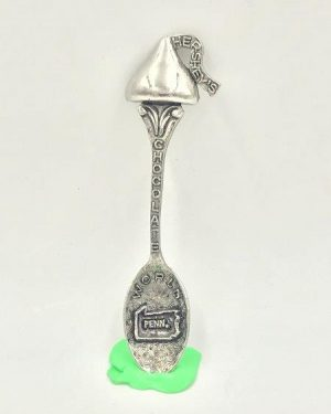 Vintage Hershey's Chocolate World Pennsylvania Pewter Spoon GISH Souvenir