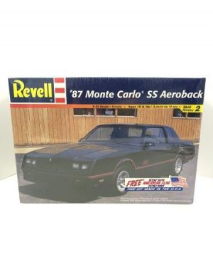 REVELL AEROBACK 1987 MONTE CARLO SS 1/25 Model Kit 2576 Factory Sealed Skill Level 2