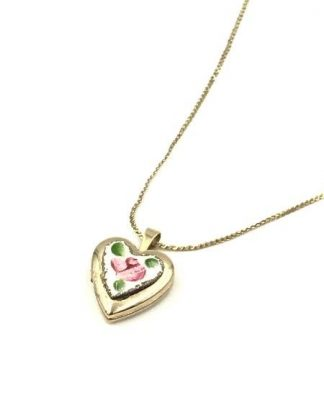 gold locket necklace for sale
