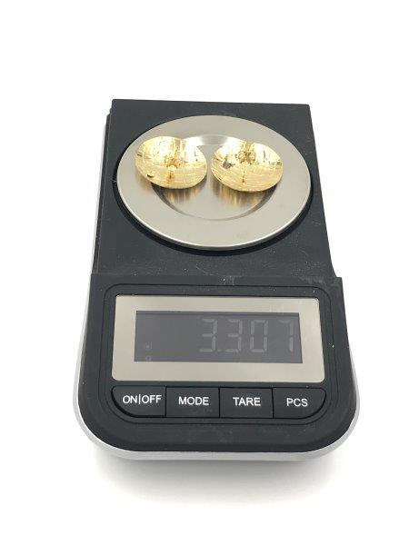 gold filled post earrings for sale
