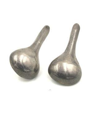 Vintage Mexico Sterling Silver Teardrop Earrings