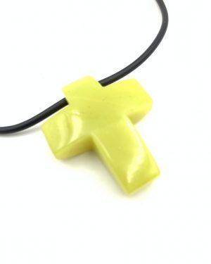 Stone Necklace Cross Pendant Jay King Desert Rose Trading
