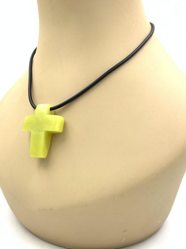 Stone Necklace Cross Pendant Jay King Desert Rose Trading for sale