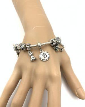 Pandora Jewelry Charm Bracelet 11 Charms