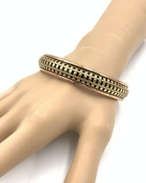 Vintage Renoir Copper Bangle Bracelet